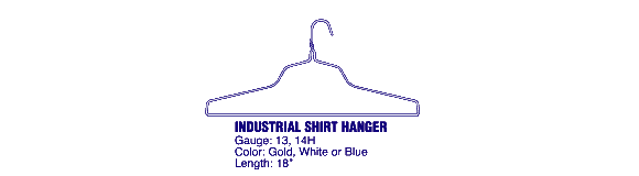 Drycleaners and apparel industry professionals use United Wire Hanger Corp.